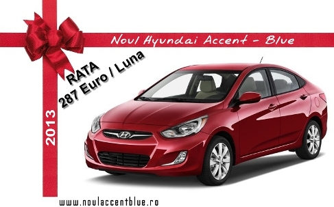 NOUL HYUNDAI ACCENT BLUE 2013