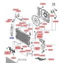 Ghidaj aer radiator dr. ( Original ) 29136-2E000 Hyundai Tucson