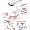 Bara spate coaja ( Original ) 86610-3K010 / 86610-3K011 Hyundai Sonata ( 2004-2006 )