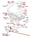 Acoperire broasca capota motor  ( Original ) 81149-H1000