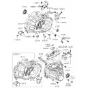 Capac carcasa cutie viteze ( Original ) 43111-23201 Hyundai Accent / Elantra / I30 / Matrix