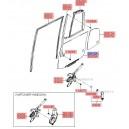 Geam mobil usa spate dr. ( Original ) 83410-1C010  Hyundai Getz
