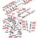 Rola dintata distributie ( Original ) 0K551-11321 Hyundai Terracan