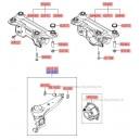 Bascula spate stanga ( Original ) 55100-26700 / 55100-26600 Hyundai Santa Fe