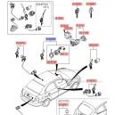 Contact pornire + chei + antena imobilizator 81920-1EA10 Hyundai Accent