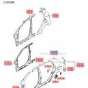 Aripa spate stanga ( Original ) 71503-1C0B0 Hyundai Getz