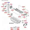 Kit distributie 1.4L DOHC ( Original ) Hyundai Accent ( an 2005-2011 )